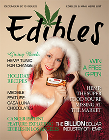 Edibles List Magazine December 2013 Issue