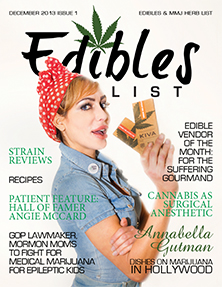 Edibles List Magazine November 2013 Issue