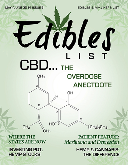 Edibles List Magazine May/June 2014 Issue