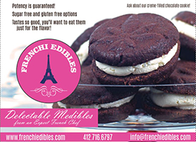 Frenchi Edibles | Medicated Oreos