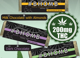 Bhomb Bars | Medicated Edibles