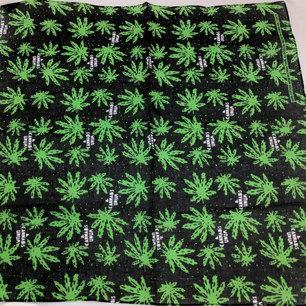 Cannabis Marijuana Pot Leaf Dab Rag