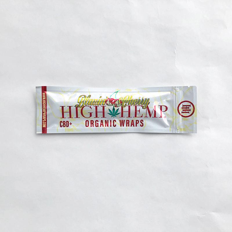 High Hemp Wraps - Blazin' Cherry