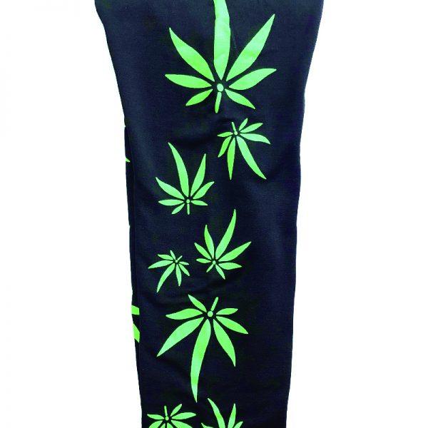Weed Leaf Leggings Side
